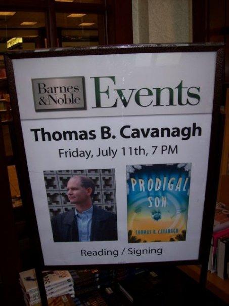 Thomas B. Cavanagh Book Signing Sign