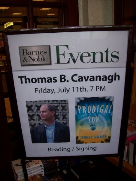 Thomas B. Cavanagh Book Signing Sign