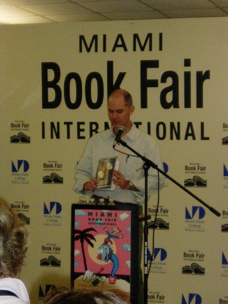 Speaking at Miami Bokk Fair